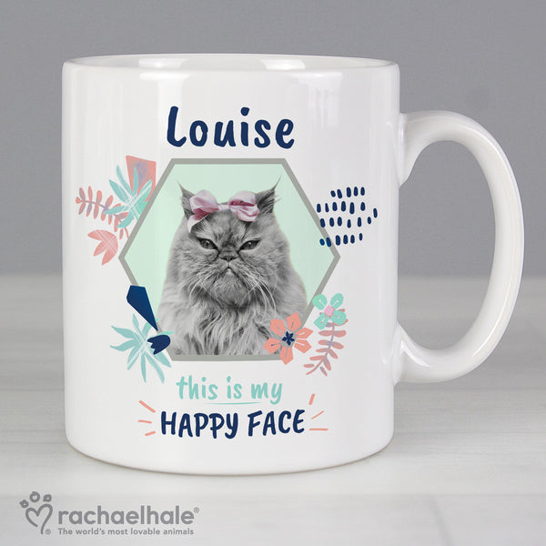 Personalised Rachael Hale 'Happy Face' Cat Mug from Sassy Bloom Gifts - alternative view