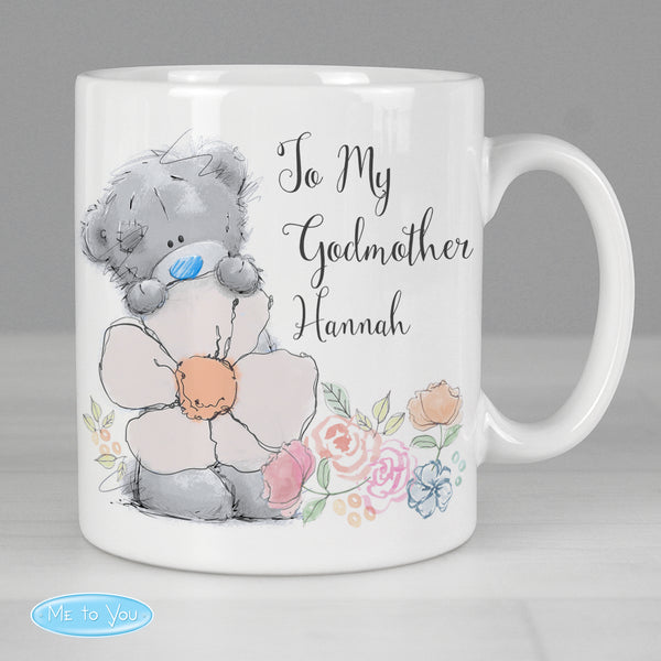Personalised Me to You Floral Mug from Sassy Bloom Gifts - alternative view