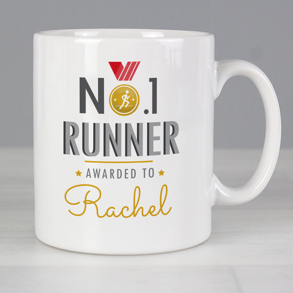 Personalised No.1 Runner Mug from Sassy Bloom Gifts - alternative view