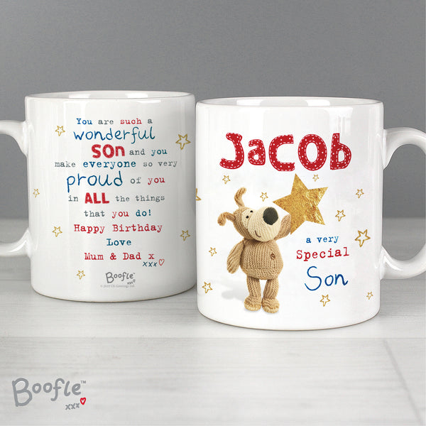 Personalised Boofle Very Special Star Mug from Sassy Bloom Gifts - alternative view