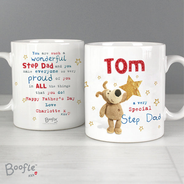 Personalised Boofle Very Special Star Mug lifestyle image