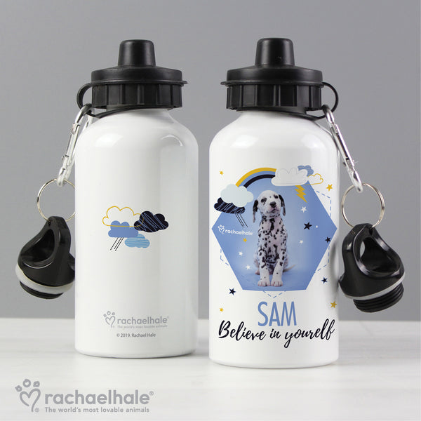 Personalised Rachael Hale Dalmatian Drinks Bottle lifestyle image
