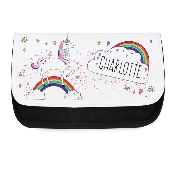 Personalised Unicorn Make Up Bag from Sassy Bloom Gifts - alternative view
