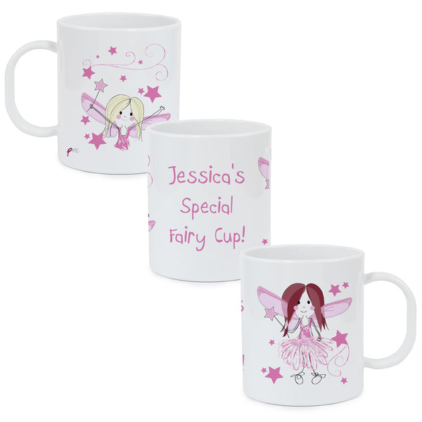 Personalised Fairy Plastic Mug from Sassy Bloom Gifts - alternative view