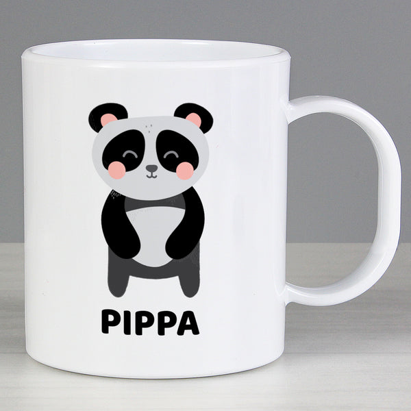 Personalised Panda Plastic Mug from Sassy Bloom Gifts - alternative view