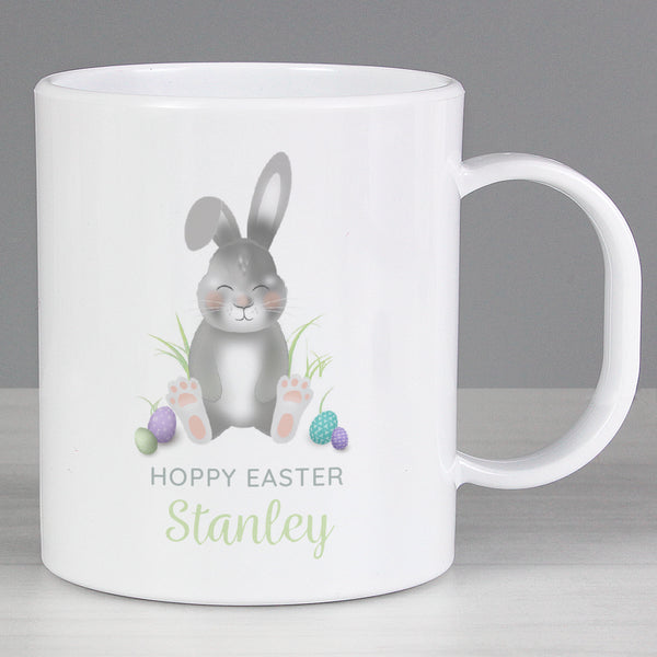 Personalised Easter Bunny Plastic Mug from Sassy Bloom Gifts - alternative view