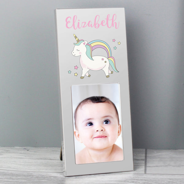 Personalised  Baby Unicorn 2x3 Photo Frame from Sassy Bloom Gifts - alternative view