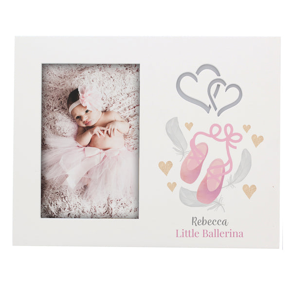 Personalised Swan Lake Ballet 6x4 Light Up Frame white background