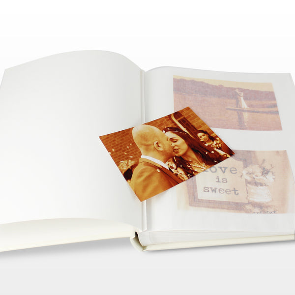 Personalised Silver Traditional Album lifestyle image