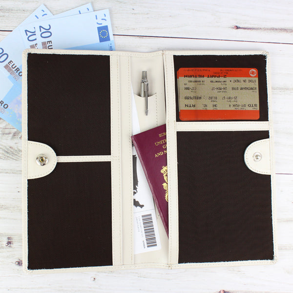 Personalised Any Message Travel Document Holder lifestyle image