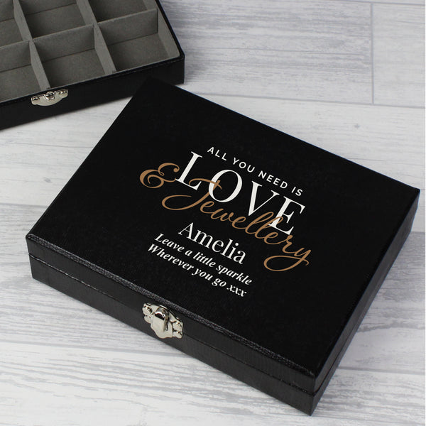 Personalised Love & Jewellery Organiser Box from Sassy Bloom Gifts - alternative view