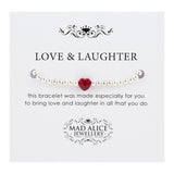 Love & Laughter bracelet