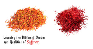 Learning the Different Grades and Qualities of Saffron