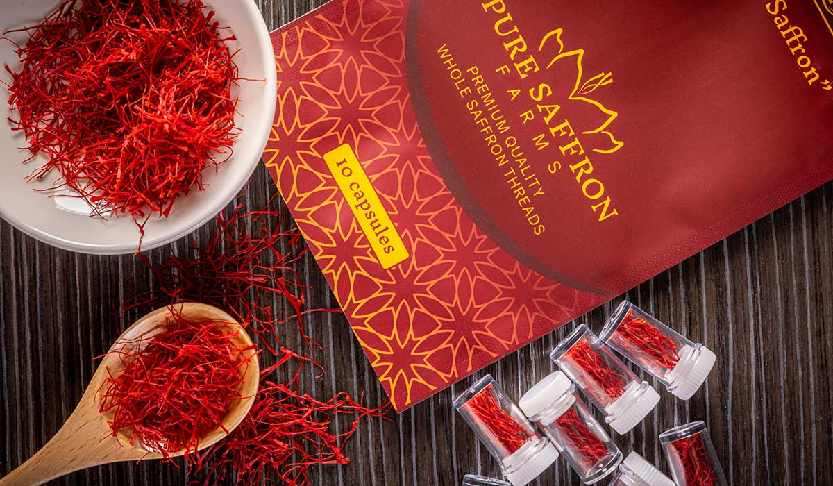 Pure Saffron Farms Capsules
