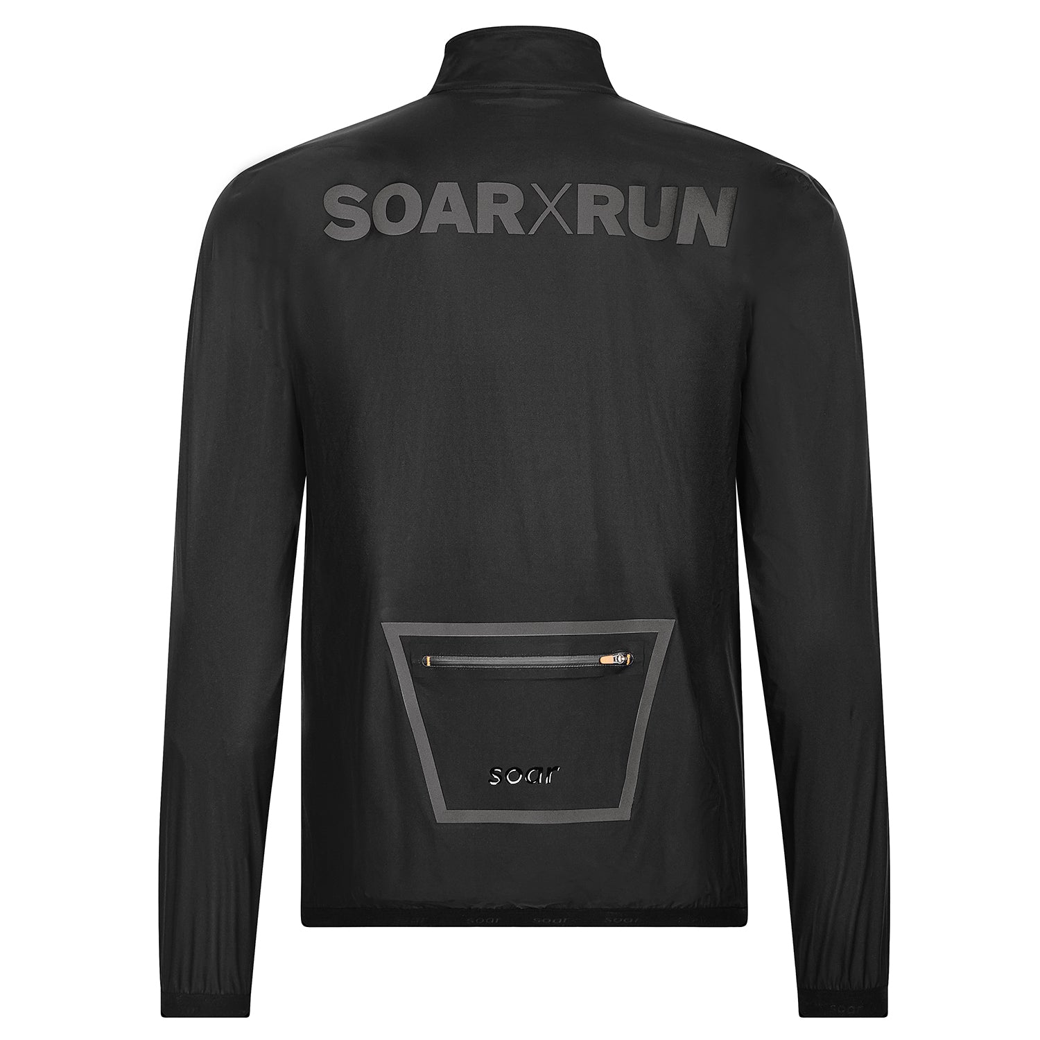 Ultra Rain Jacket 2 0 Black Edition Soar Running