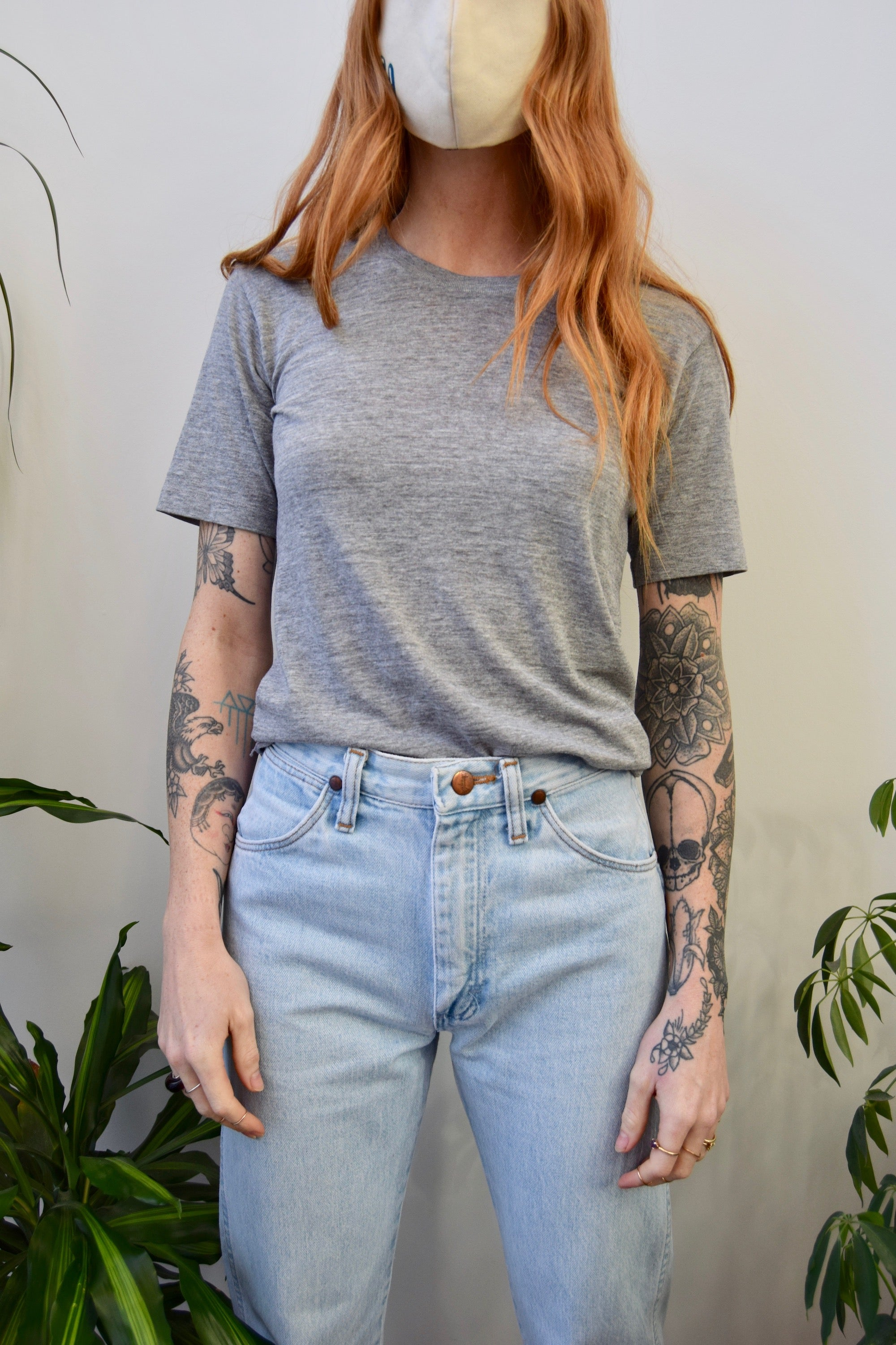 Soft Heather Grey Tee