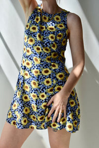 Sunflower Picnic Dress