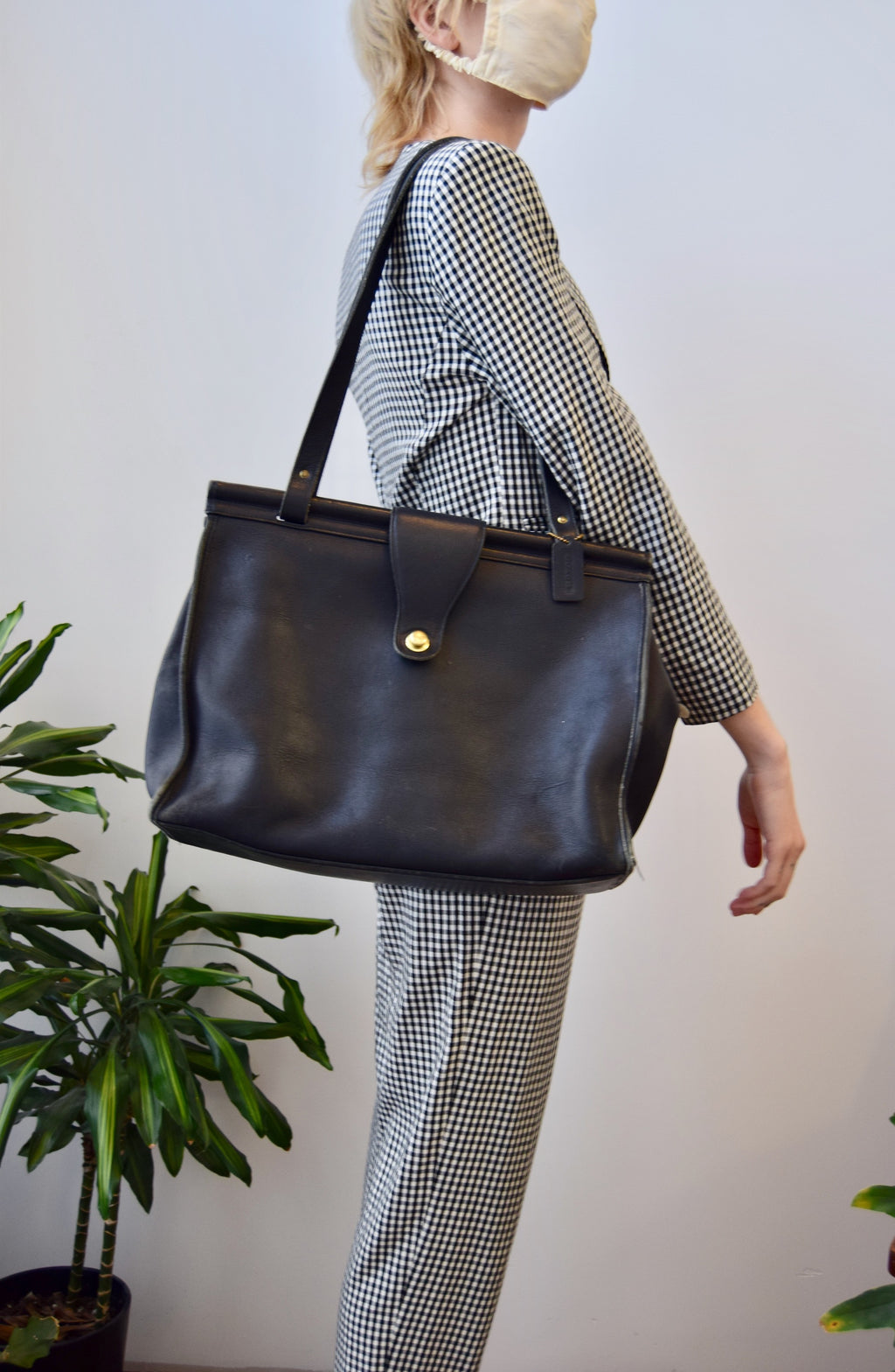 Perfect Vintage Coach Barclay Bag
