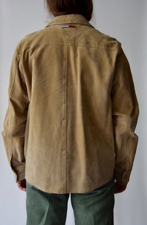 Vintage Suede Tommy Jeans Suede Shirt