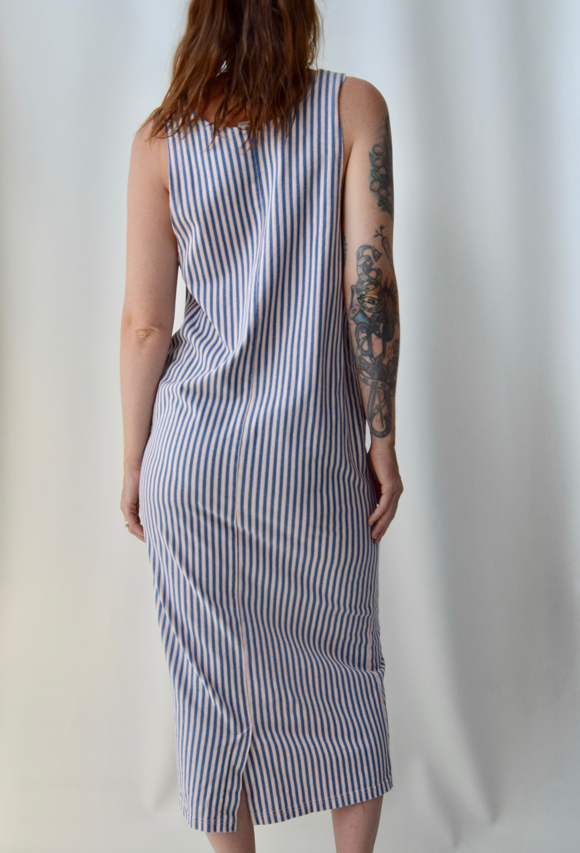 Cotton Candy Stripe Dress