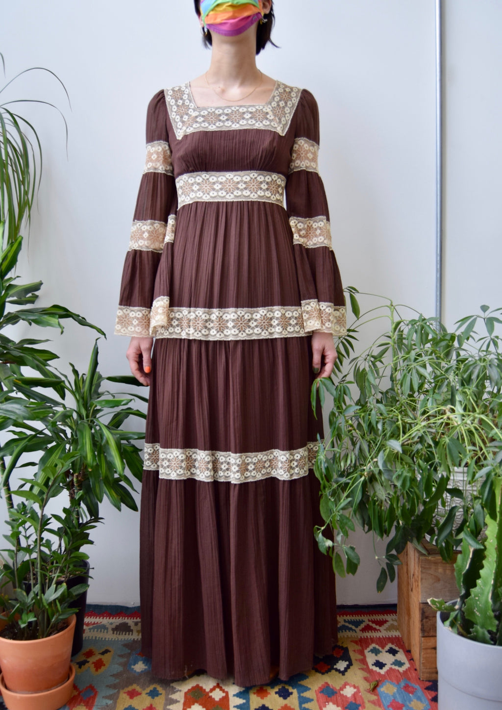 Seventies Gauzy Renaissance Dress