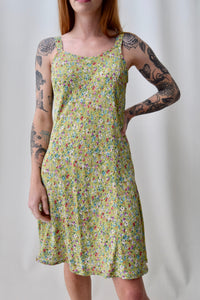 Rayon Pear Floral Summer Dress