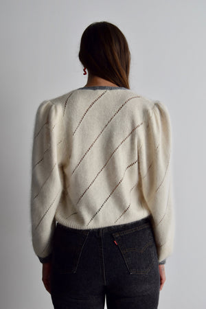 Sweet Lil Angora Silk Sweater Top