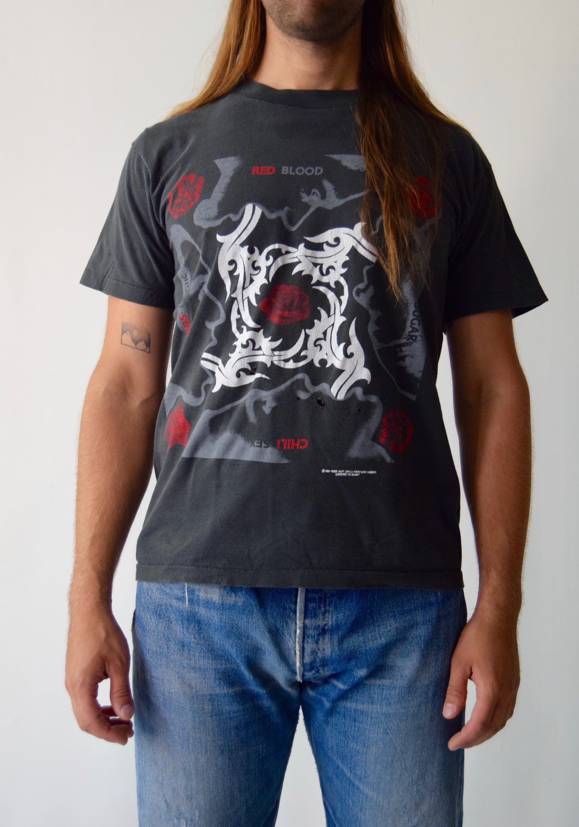 91' Blood Sugar Sex Magik Red Hot Chili Peppers T-Shirt