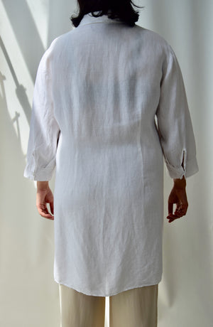 Double Pocket Linen Tunic