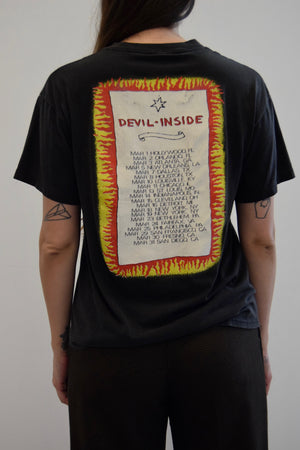 INXS Devil Inside Tour T-Shirt