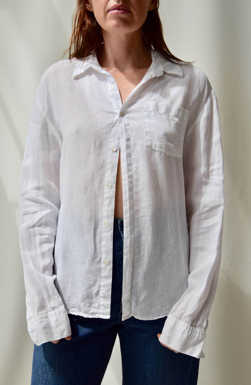 James Perse Men's Linen Shirt