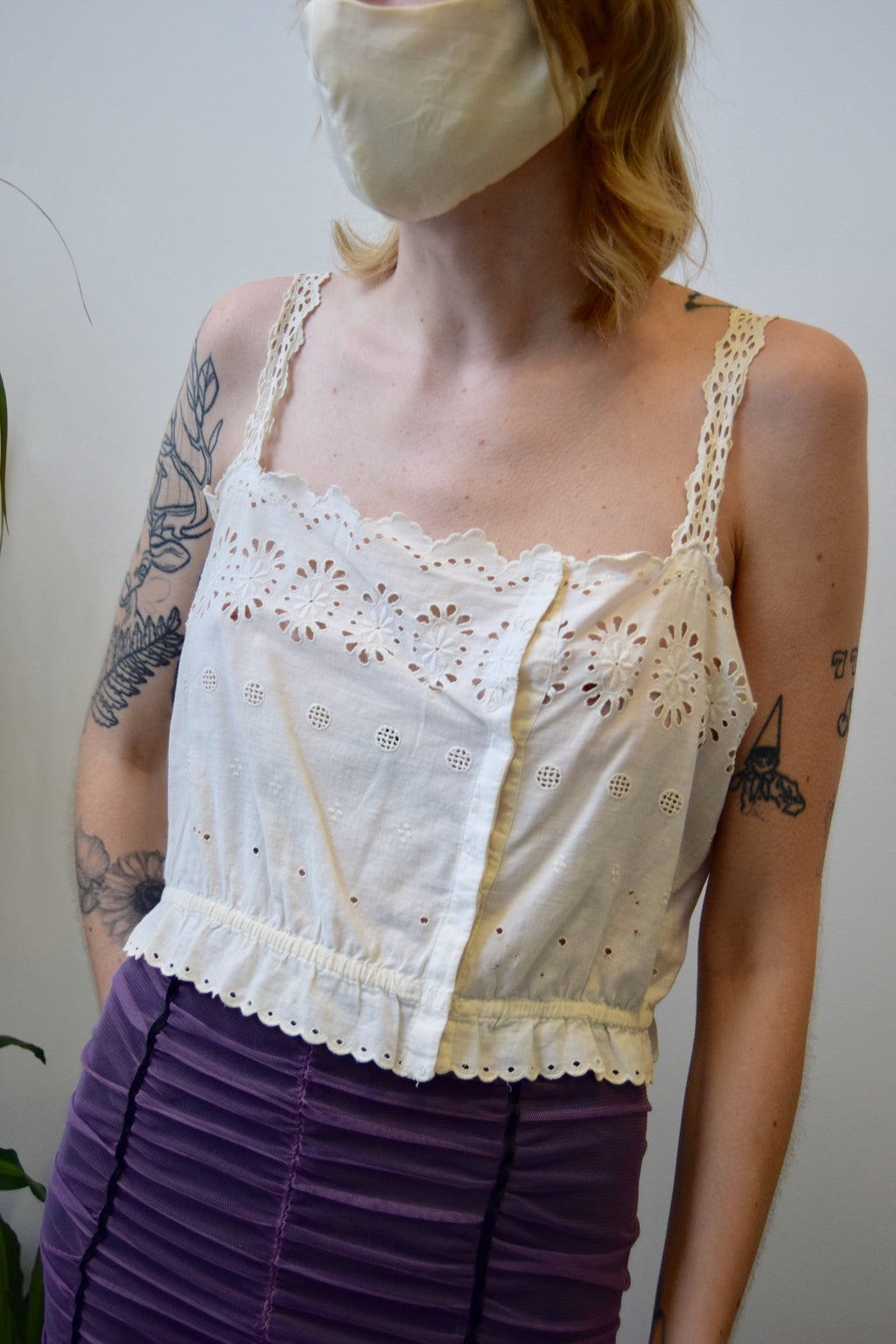 Antique Eyelet Camisole