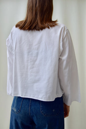 Cropped Indian Cotton Top