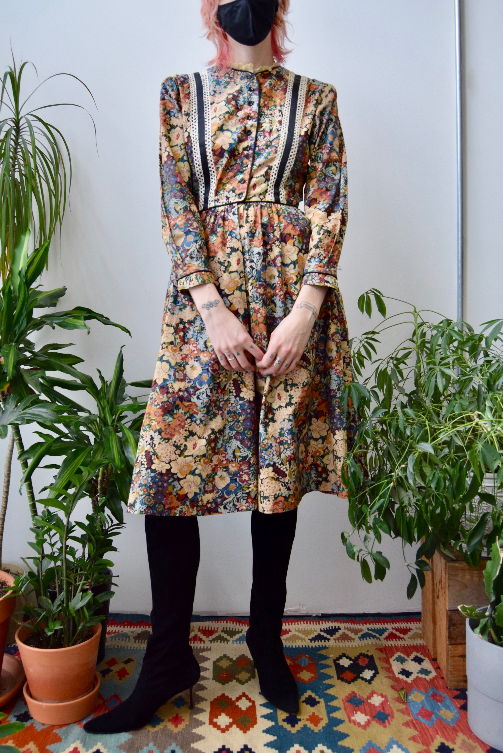 Seventies Tapestry Dress