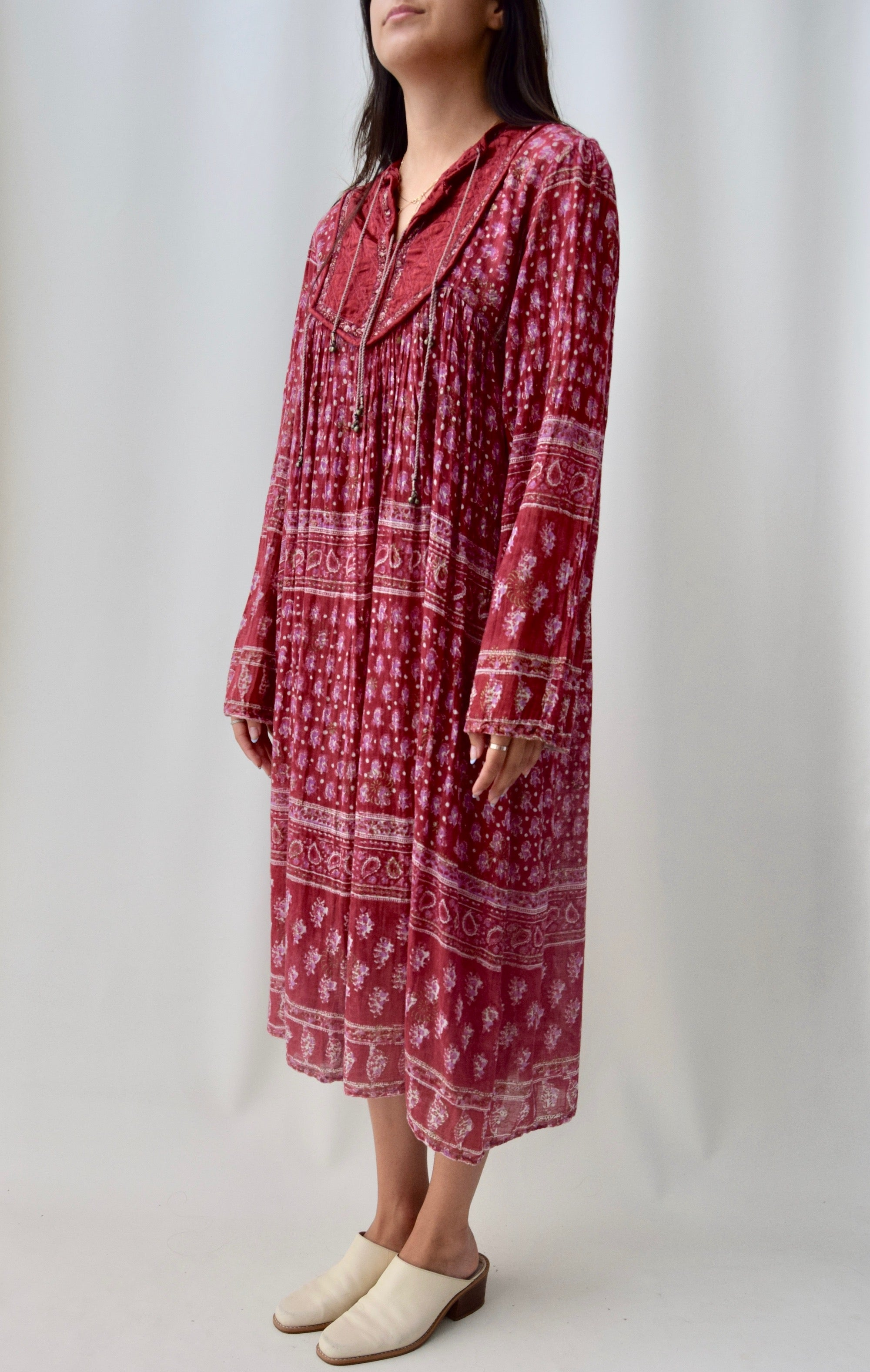 Gauze Indian Cotton Dress