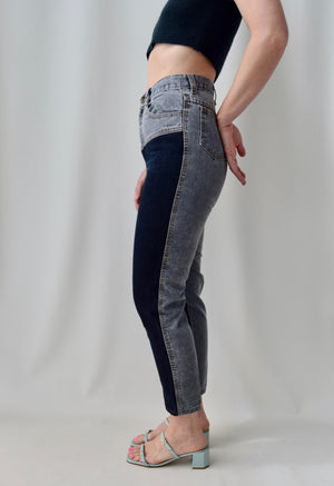"Vintage Two Tone ""Palmetto's"" Jeans"