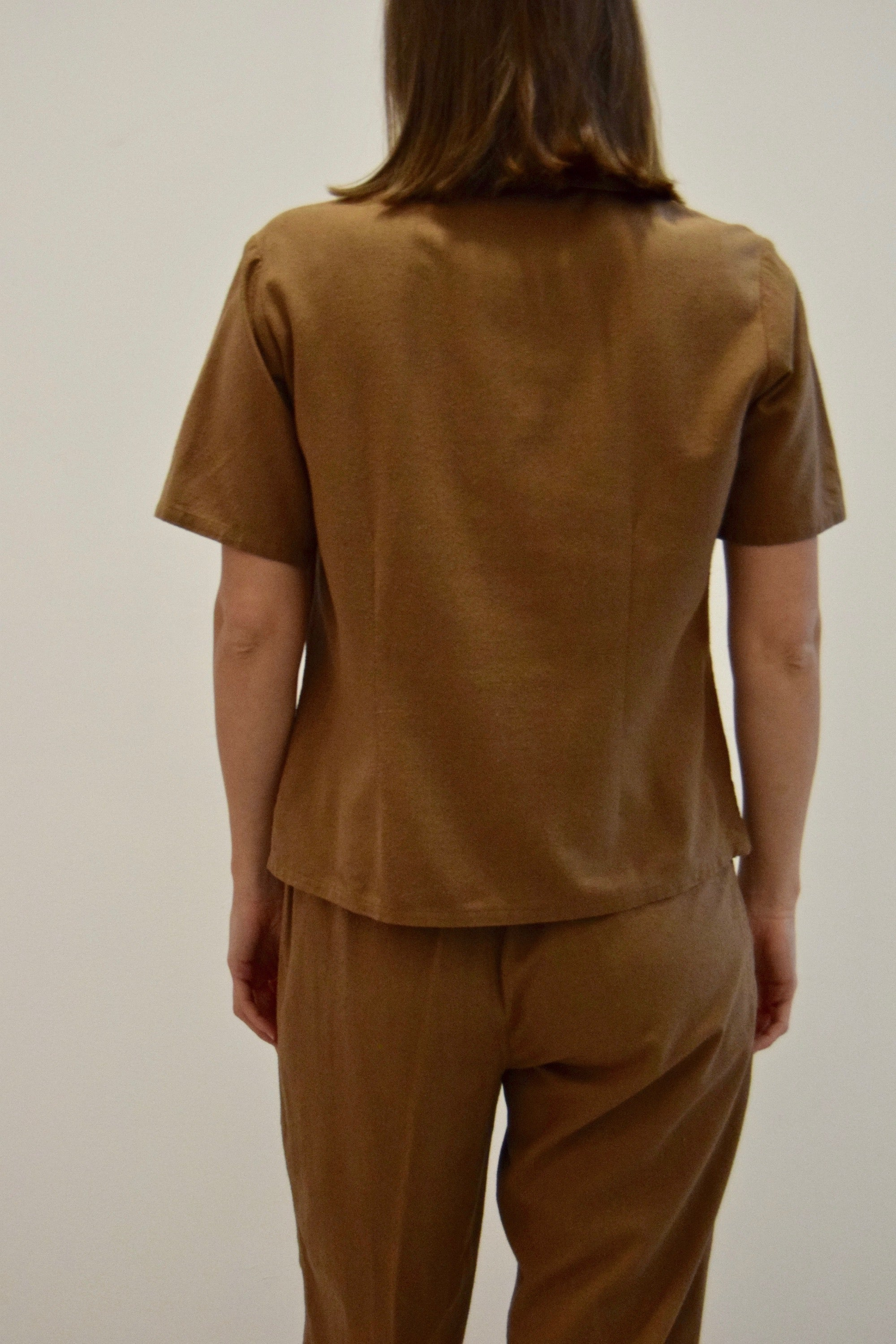 Cedar Two Piece Raw Silk Set FREE SHIPPING TO THE U.S.