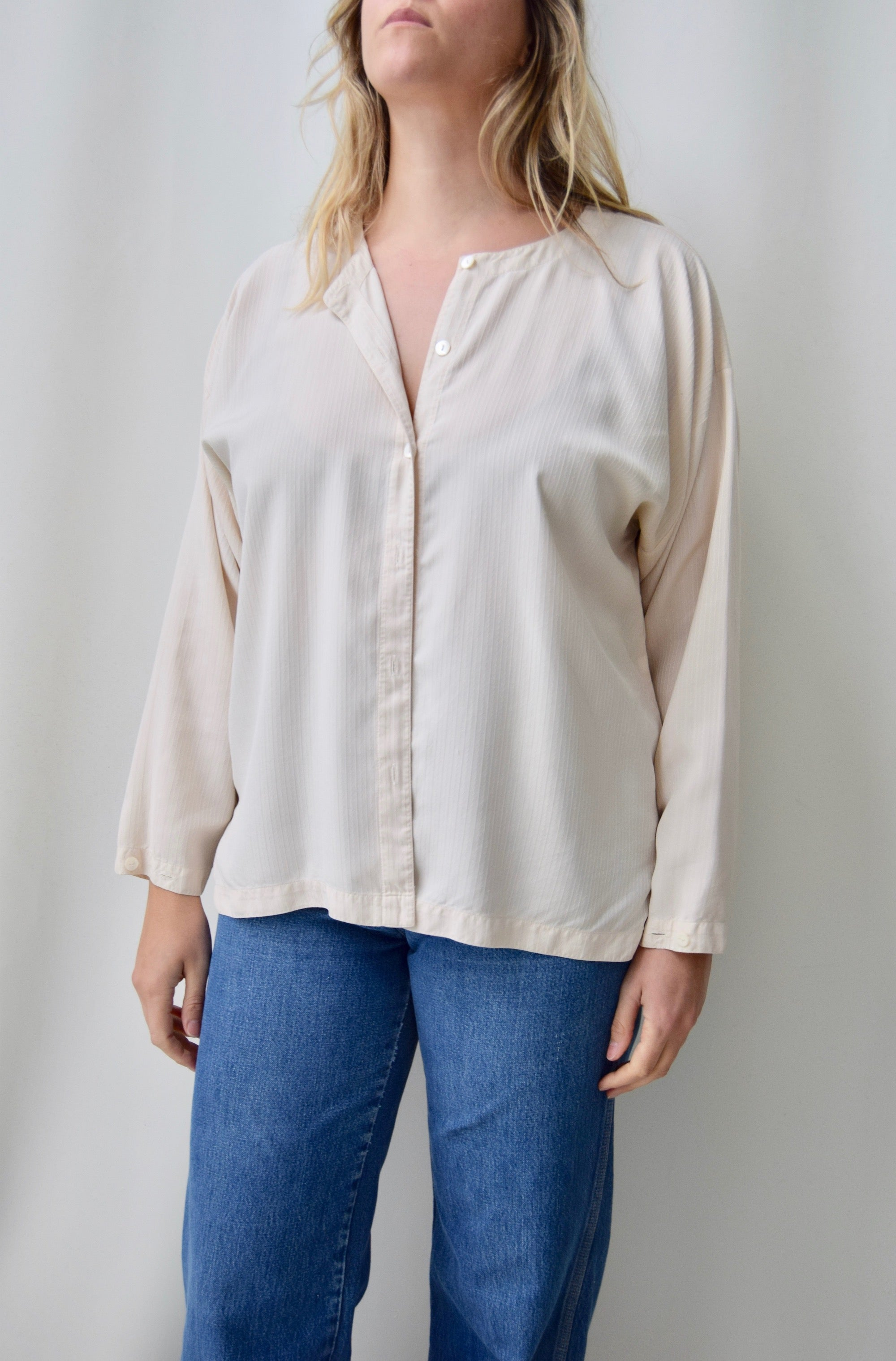 Vintage Eileen Fisher Silk Top