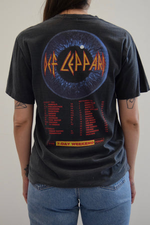 Def Leppard Adrenalize 1992 Tour Tee