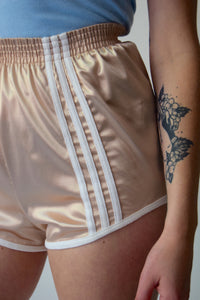 1970's High Waisted Champagne Sport Shorts FREE SHIPPING