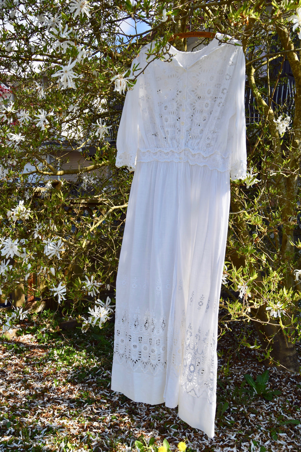 Antique Edwardian Tea Dress