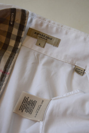 Classic Burberry of London Cotton Dress Shirt