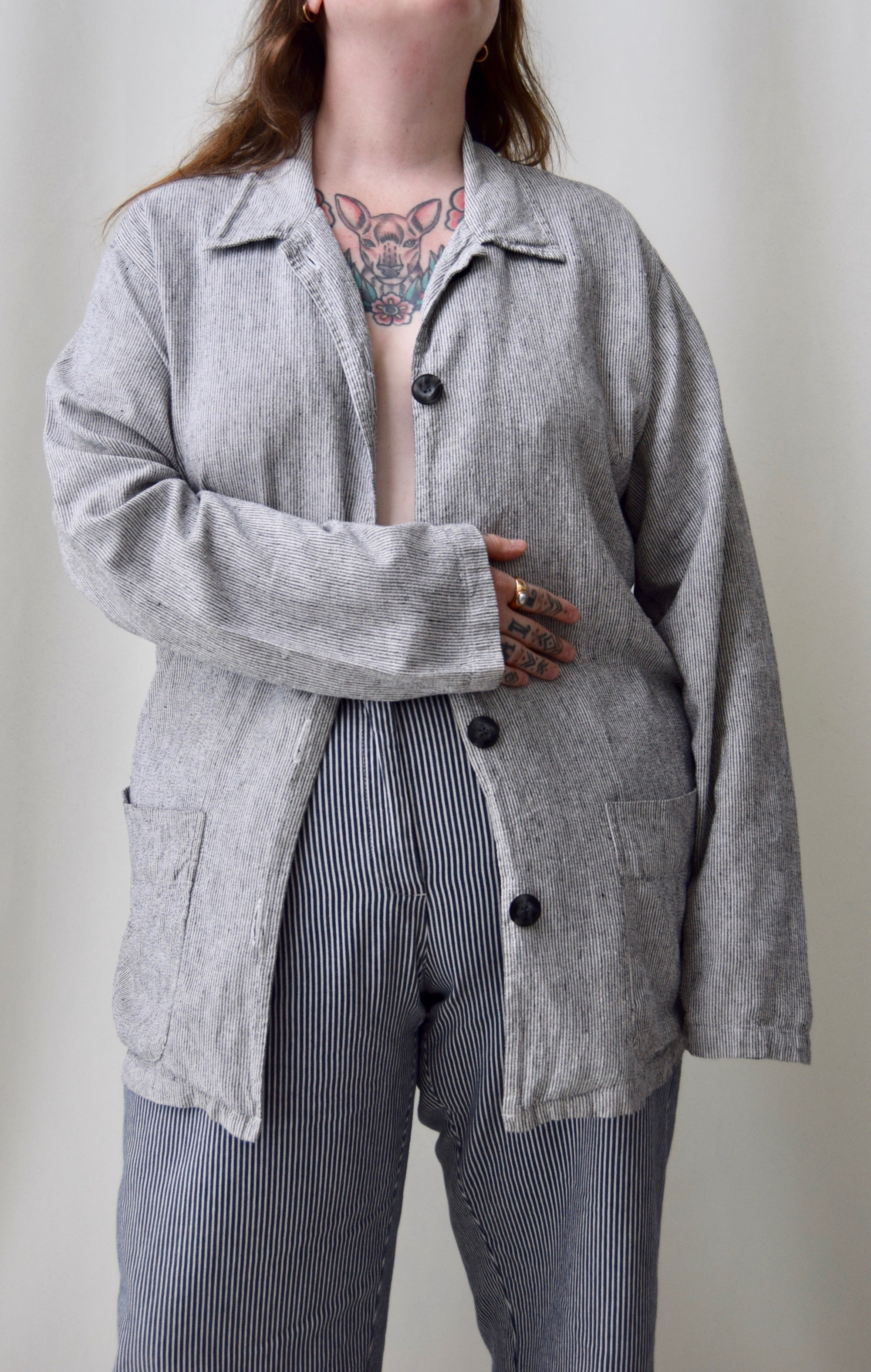 Linen Blend Light Jacket