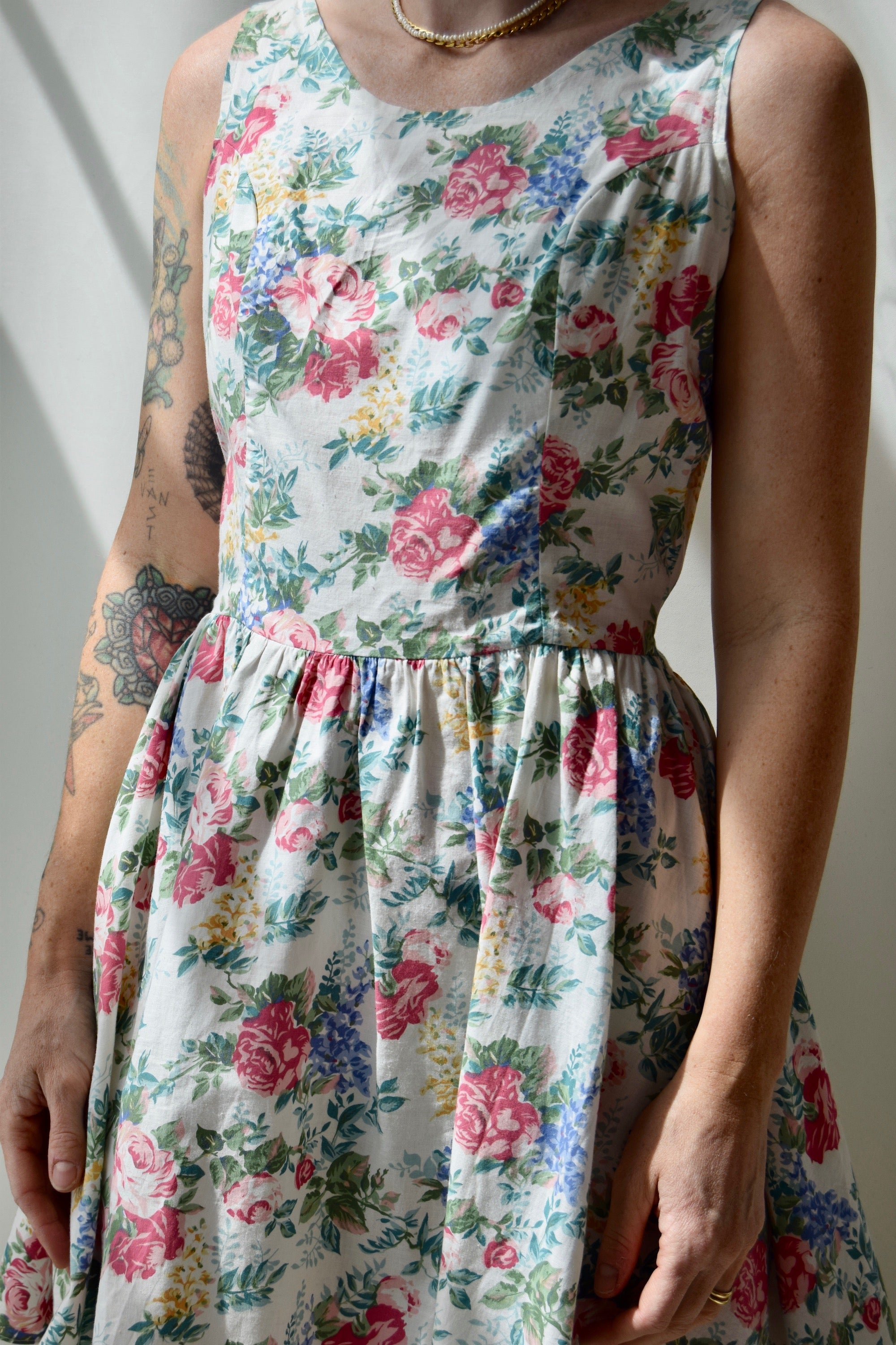 Cotton Floral Garden Dress