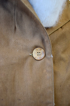 Early 1900's Duxbak Canvas Jacket