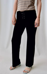 Early 00's Le Chateau Velvet Pants