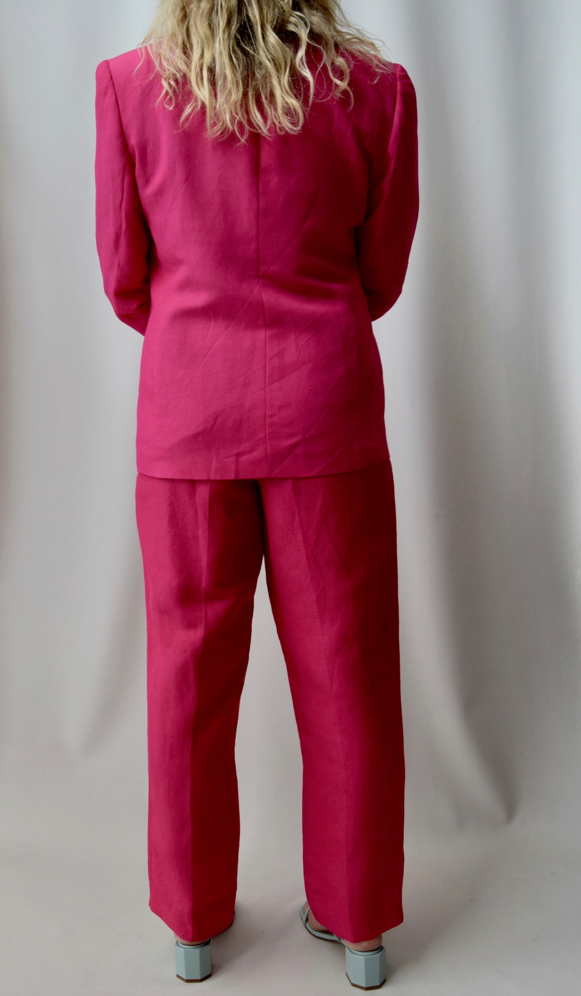 Hot Pink Power Suit