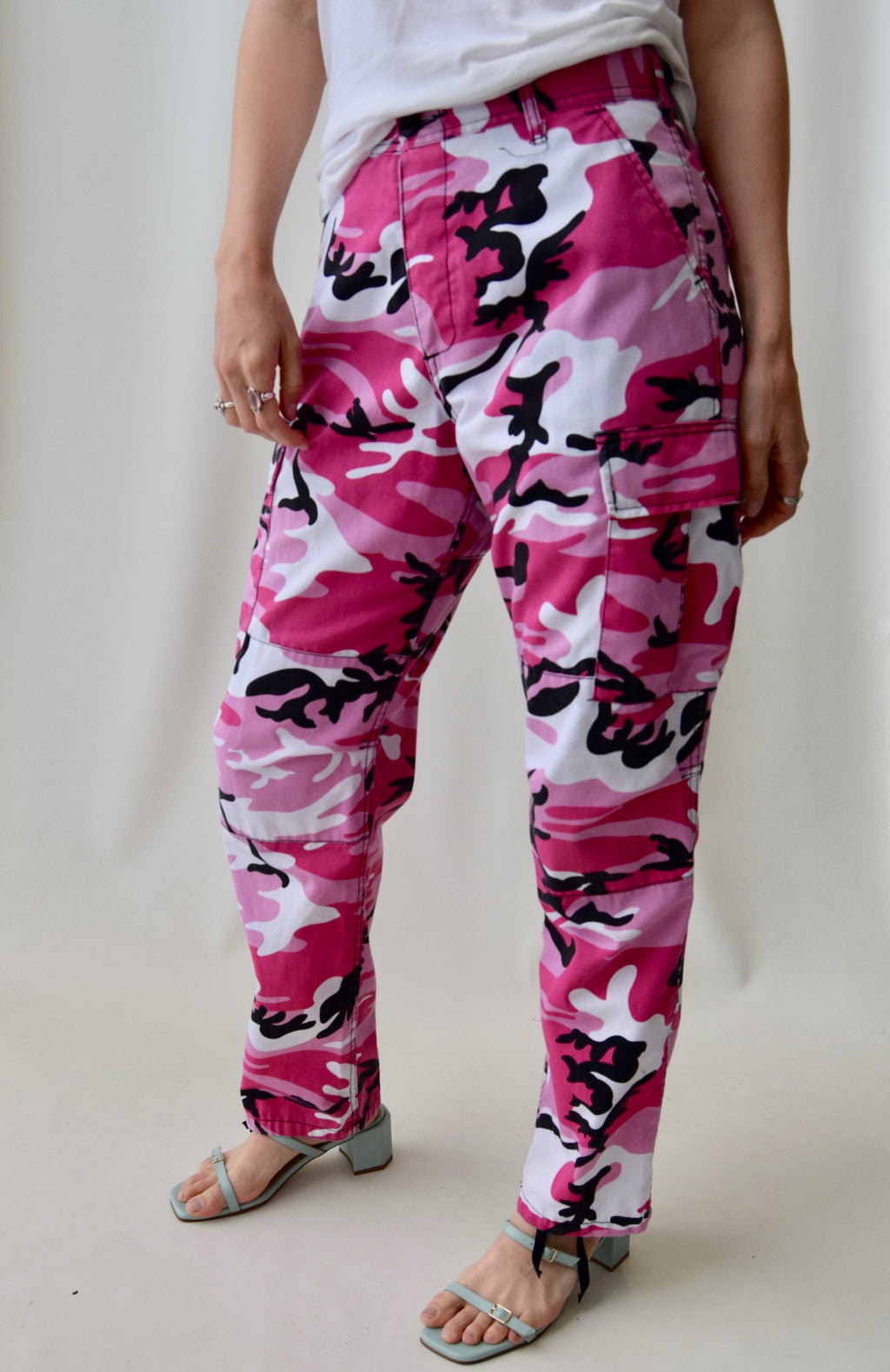 Pink Camo Army Pants