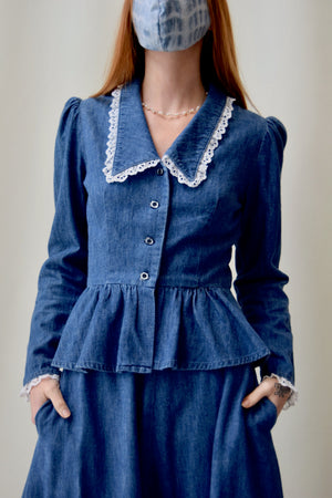 Denim Western Set