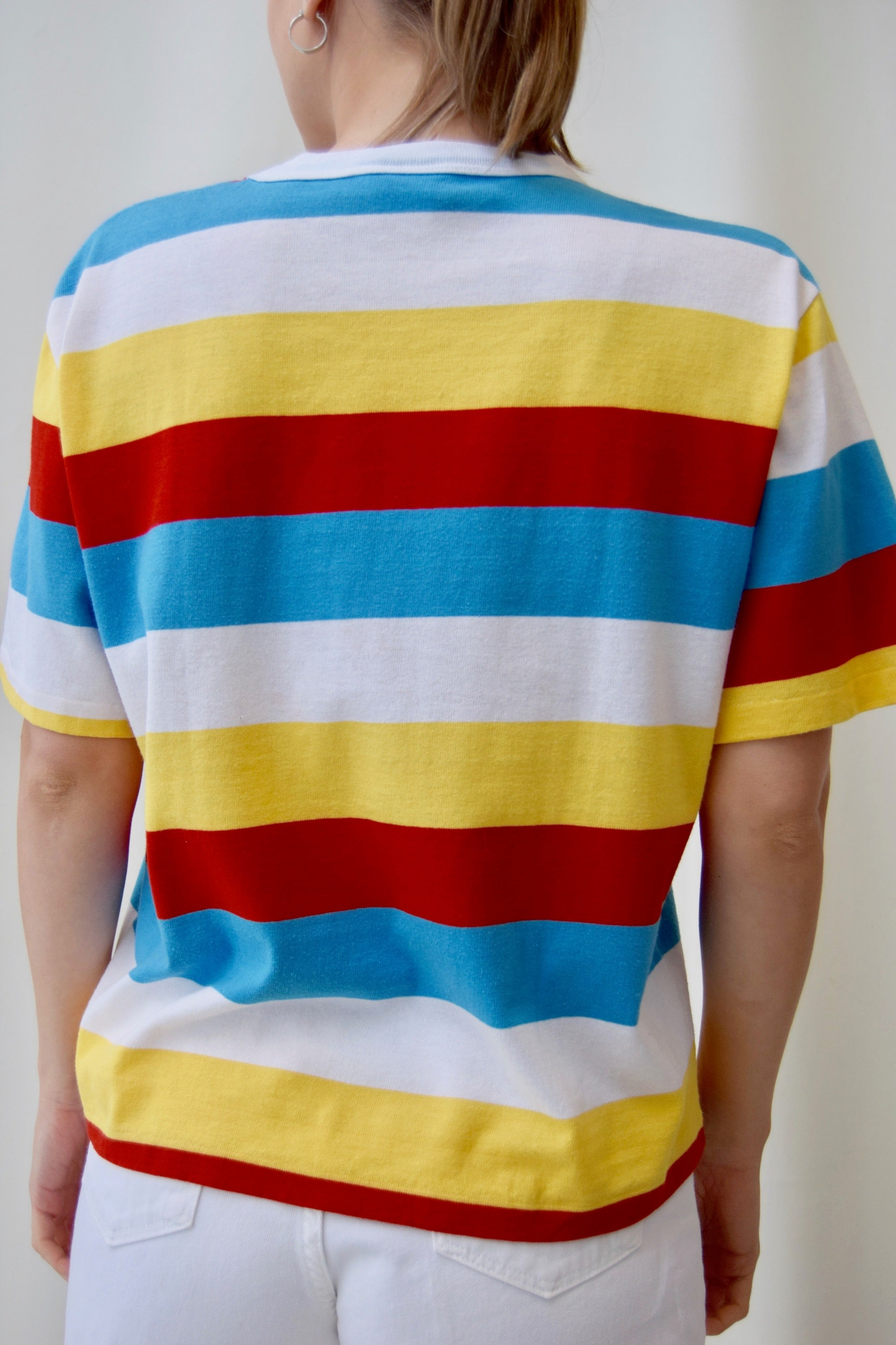 Vintage Striped Beach Boys T-Shirt